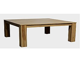 CASTORO SQUARE DINING TABLE 165 NATURAL
