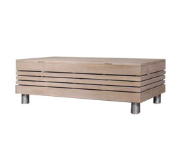 NOVA COFFEE TABLE 120 ANTIQ BROWN