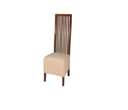 VILLE SLIM DINING CHAIR ANTIQ BROWN GLOBAL140CREAM
